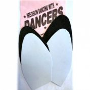 Ladies Dance Soles for DIY Shoe Repairs, Choice of Black or Silver